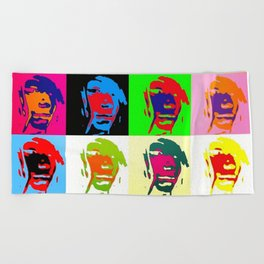 Free In Colorfulness Beach Towel