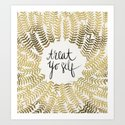 Treat Yo Self – Gold by catcoq