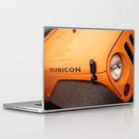 jeep Laptop & iPad Skins featuring Jeep Rubicon by SShaw Photographic