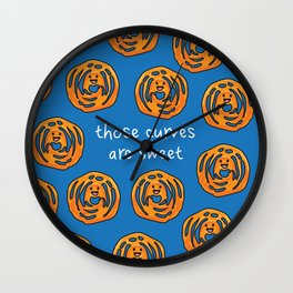 Those Curves Are Sweet Wall Clock
