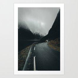 Road To Freedome Art Print