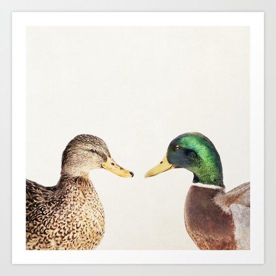 Two Ducks by themoonandmars