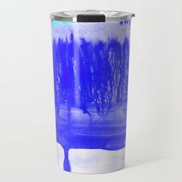 Dip Dye Ultramarine Travel Mug