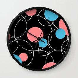 Round Retro 2 Wall Clock
