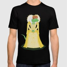 Queen Elizardbeth I Black MEDIUM Mens Fitted Tee
