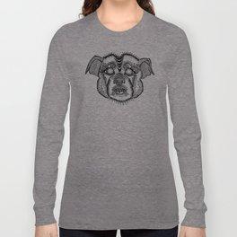Staffie #1 Long Sleeve T-shirt