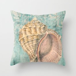 Shabby Shell2 Throw Pillow