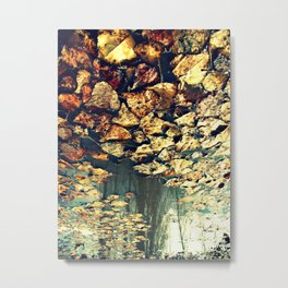 Every Time I See You Falling Metal Print
