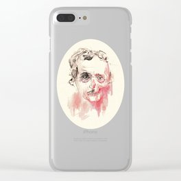 Poe Clear iPhone Case
