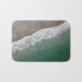 Wrightsville Beach Waves Bath Mat
