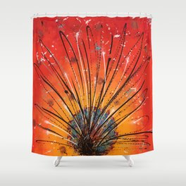 Sacred fire Shower Curtain