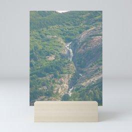 Mountain Falls - 5 Mini Art Print