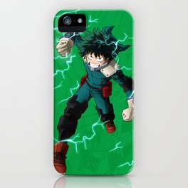 Deku - One for all iPhone Case