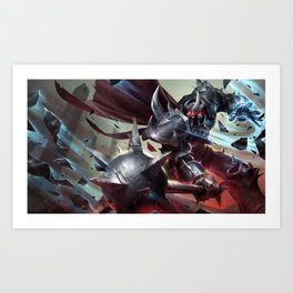 Classic Mordekaiser League Of Legends Art Print