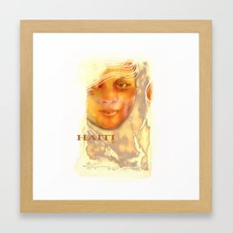 Haiti Portraits /06 / Series / 5 Framed Art Print