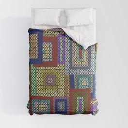 Needlepoint Squares Comforters