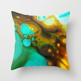 Acrylic 21 Throw Pillow