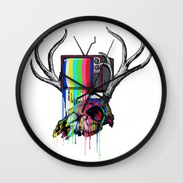 COLORS TV Wall Clock