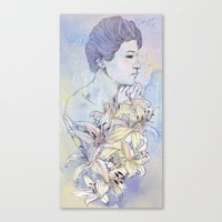 virgo Canvas Prints featuring Virgo by Csangal