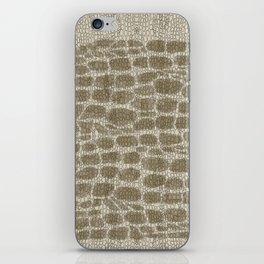 Croco skinn iPhone Skin