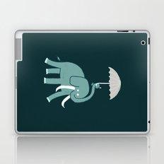 Elephant with umbrella Laptop & iPad Skin