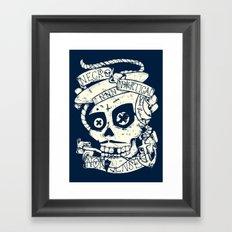 Necro Nautical Nonsense  Framed Art Print