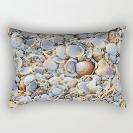To Shell Or Not To Shell Rectangular Pillow