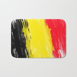 Belgium's Flag Design Bath Mat
