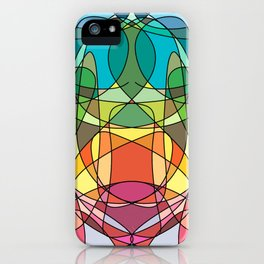 Abstract Curves #4 - Butter Fly iPhone Case