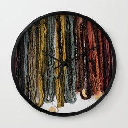 Yarn Work Wall Clock