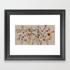 Generations Dinner Framed Art Print