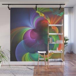 Rainbows Wall Mural