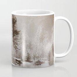 Flow, River, Flow -- The Merced River Flows Through Yosemite Coffee Mug