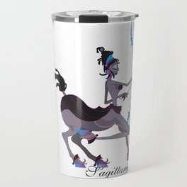 Starlight Sagittarius Travel Mug