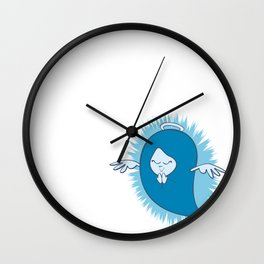 She's An Angel Wall Clock