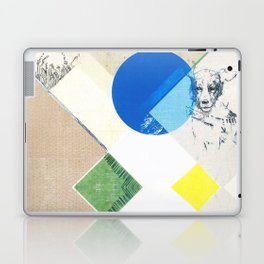 abstract dog sketch Laptop & iPad Skin