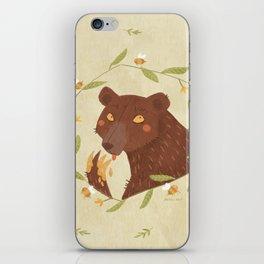 Whoops! - Bear - iPhone Skin