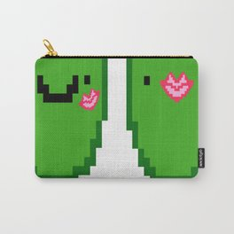 Pixelated-Olive-You Carry-All Pouch