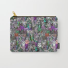 Gemstone Cats UltraViolet Green Palatte Carry-All Pouch