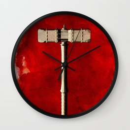Hammer of Thor Wall Clock