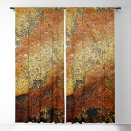 Beach Stone Abstract Blackout Curtain