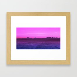 Bi Pride Framed Art Print