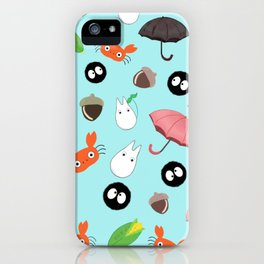 Let's meet again the forest god iPhone Case