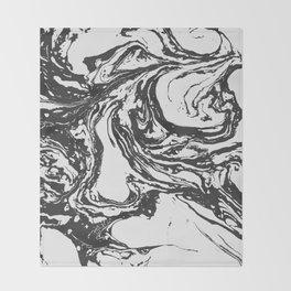 Swirling World V.2 Throw Blanket