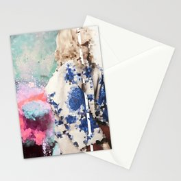 Crystal Explosions Stationery Cards