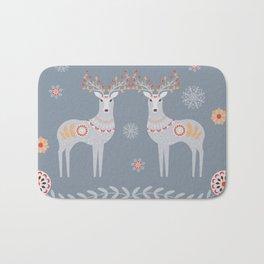 Nordic Winter Bath Mat