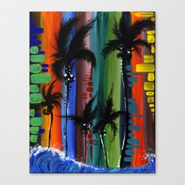 """COLOR IN PARADISE""  Canvas Print"