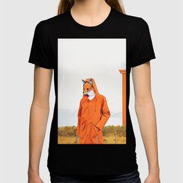 Fox and the lighthouse T-shirt