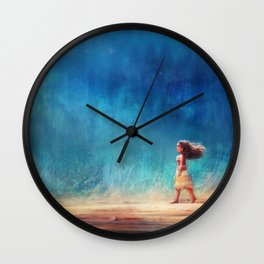 I Have Crossed the Horizon to Find You Wall Clock