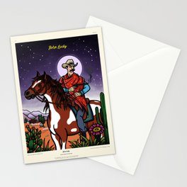 Cowboy - Born Lucky Stationery Cards